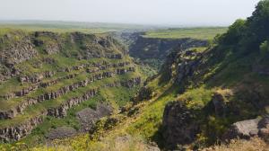 une faille dans le plateau arménien