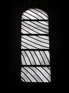 vitrail de Soulages