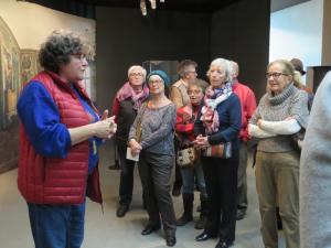 visite de l'exposition le luxedans l'antiquité au MDAA